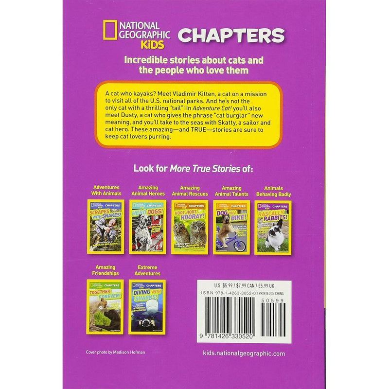Adventure Cat (National Geographic Kids Chapters)-BuyBookBook