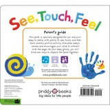 See, Touch, Feel: A First Sensory Book (Hardback)-BuyBookBook