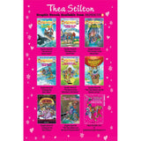 Thea Stilton Graphic Novels #8: The Thea Sisters and the Secret Treasure Hunt (Hardback)-BuyBookBook