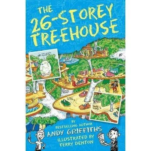 The 13-Storey Treehouse Collection (9 Books)(Treehouse