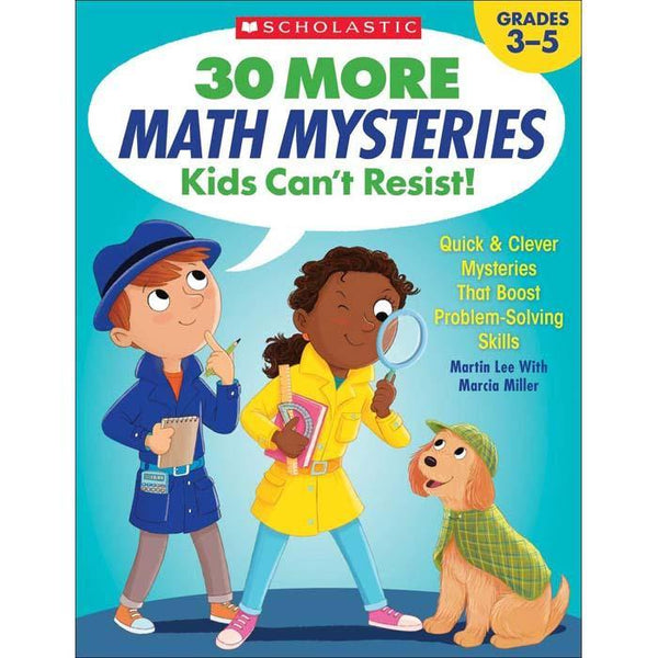30 More Math Mysteries Kids Can't Resist!-BuyBookBook