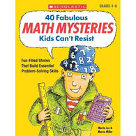 40 Fabulous Math Mysteries Kids Can't Resist-BuyBookBook