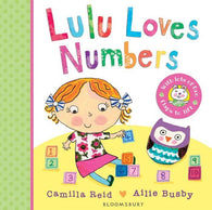 LuLu Loves Numbers (Board Book)-BuyBookBook