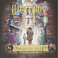Harry Potter – Diagon Alley A Movie Scrapbook (Hardback)-BuyBookBook
