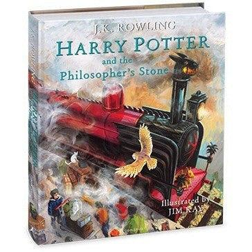 Harry Potter (#1) and the Philosopher's Stone Illustrated (Hardback)-BuyBookBook