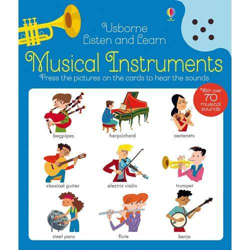 Listen and Learn Musical Instruments-BuyBookBook