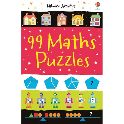99 Maths puzzles-BuyBookBook