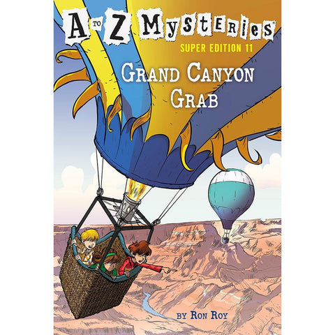 A to Z Mysteries Super Edition #11 Grand Canyon Grab-BuyBookBook