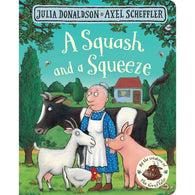 A Squash and a Squeeze (Board Book) (J. Donaldson)-BuyBookBook