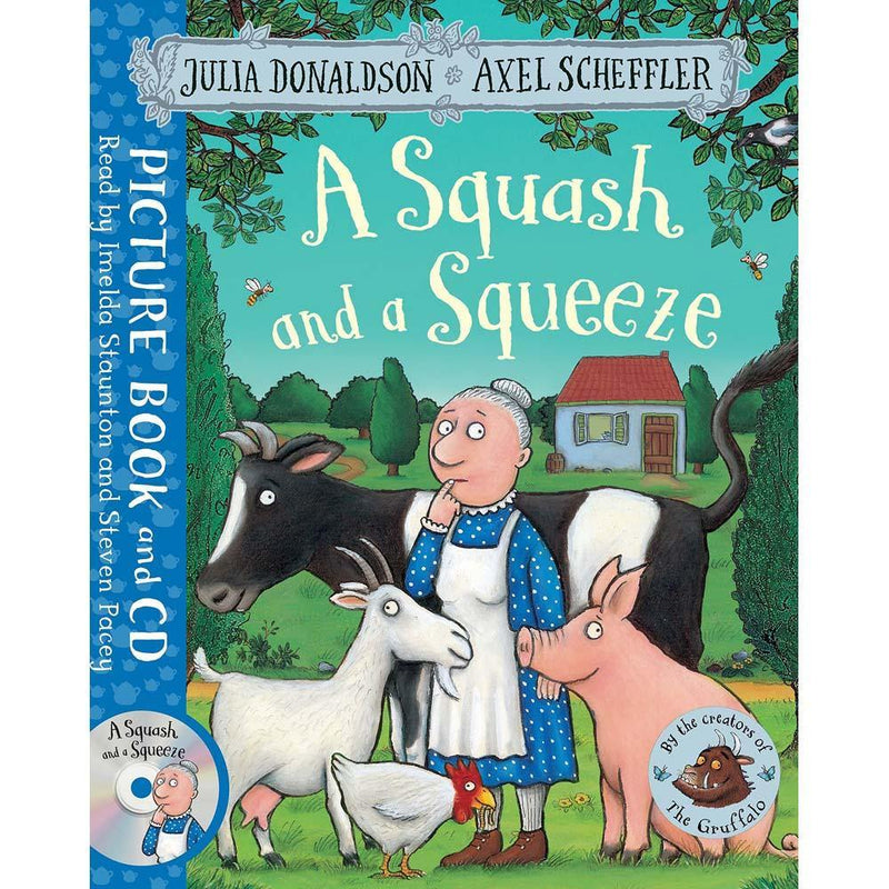 A Squash and a Squeeze (Book + CD) (J. Donaldson) (Axel Scheffler)-BuyBookBook