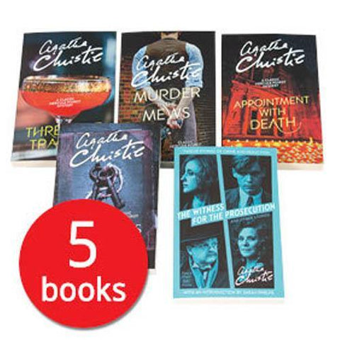 Agatha Christie Collection (5 Books)-BuyBookBook