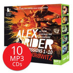 Alex Rider Missions 1-10 MP3 CD Collection (10 MP3 CDs)-BuyBookBook