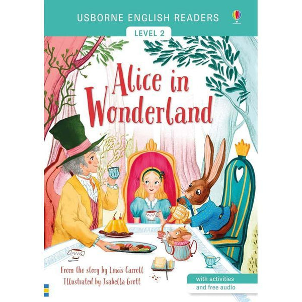 Alice in Wonderland (with Audio QR Code)-BuyBookBook