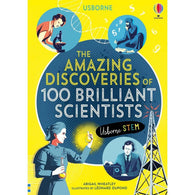 Amazing Discoveries of 100 Brilliant Scientists, The-BuyBookBook