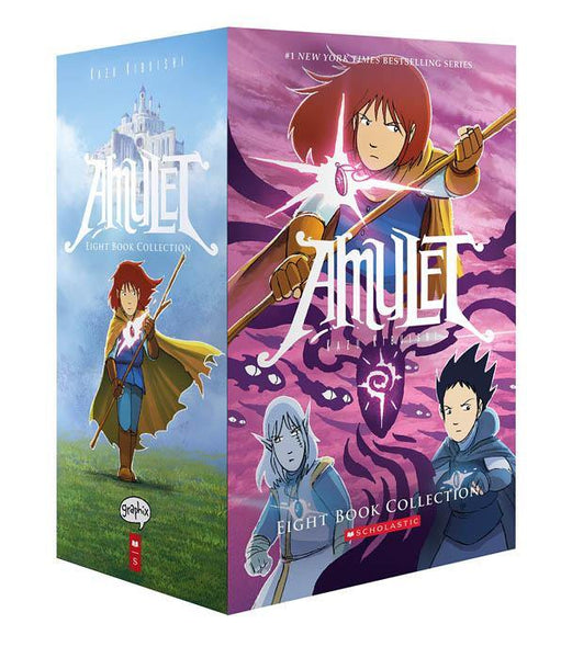 Amulet #1-8 Collection (8 Book)-BuyBookBook