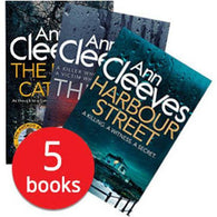 Ann Cleeves Collection (5 Books)-BuyBookBook