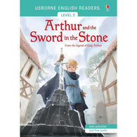 Usborne English Readers (L2) Arthur and the Sword in the Stone (QR Code)-BuyBookBook