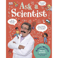 Ask A Scientist: Professor Robert Winston Answers 100 Big Questions from Kids... (Hardback)-BuyBookBook