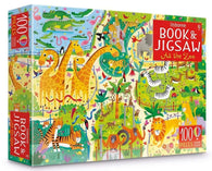 At the Zoo Puzzle Book and Jigsaw-BuyBookBook