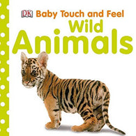 Baby Touch and Feel Wild Animals-BuyBookBook