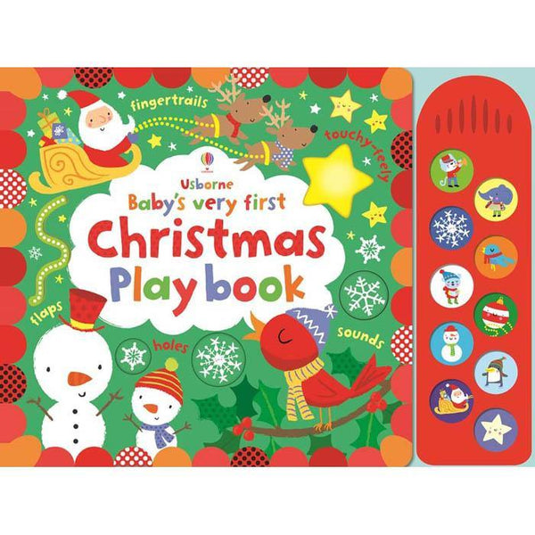 Baby's Very First Christmas Play book-BuyBookBook