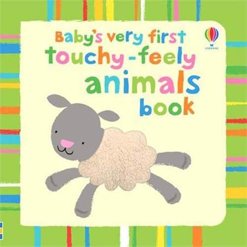 Baby's Very First Touchy-Feely Animals Book-BuyBookBook