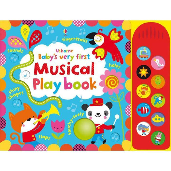 Baby's Very First Touchy-Feely Musical Play book-BuyBookBook