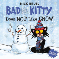 Bad Kitty Does Not Like Snow (with Stickers)-BuyBookBook