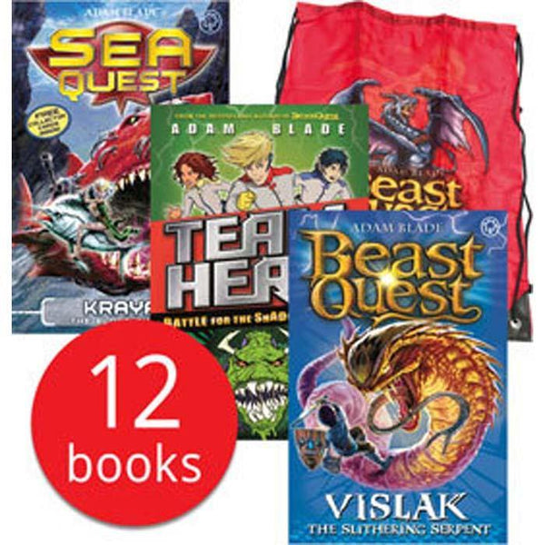 Beast Quest & Other Monsters Kitbag Collection (12 Books)-BuyBookBook