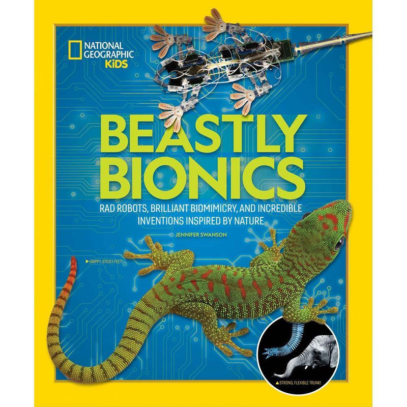 Beastly Bionics (National Geographic Kids)-BuyBookBook