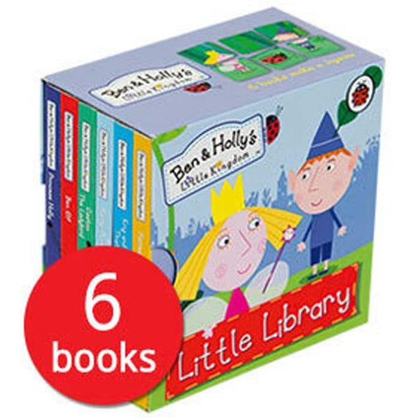 Ben & Holly's Little Kingdom Little Library (6 Book)-BuyBookBook