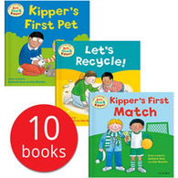 Biff, Chip and Kipper First Experiences Collection (10 Books)-BuyBookBook