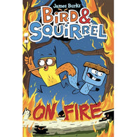 Bird & Squirrel #4 On Fire-BuyBookBook