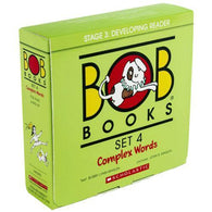 Bob Books Set 4 Complex Words-BuyBookBook