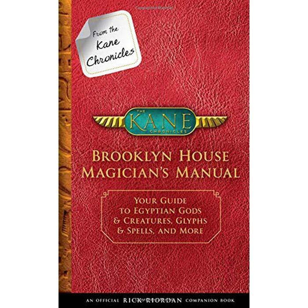 Brooklyn House Magician's Manual- Official Kane Chronicle Companion Book (Hardback)-BuyBookBook