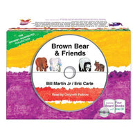 Brown Bear and Friends Collection (Board Book + CD) (Eric Carle)-BuyBookBook
