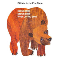 Brown Bear, Brown Bear, What Do You See? (Eric Carle)-BuyBookBook