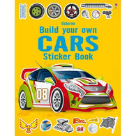 Build your own cars sticker book-BuyBookBook