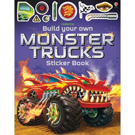 Build your own monster trucks sticker book-BuyBookBook
