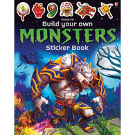 Build your own monsters sticker book-BuyBookBook