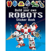 Build your own robots sticker book-BuyBookBook