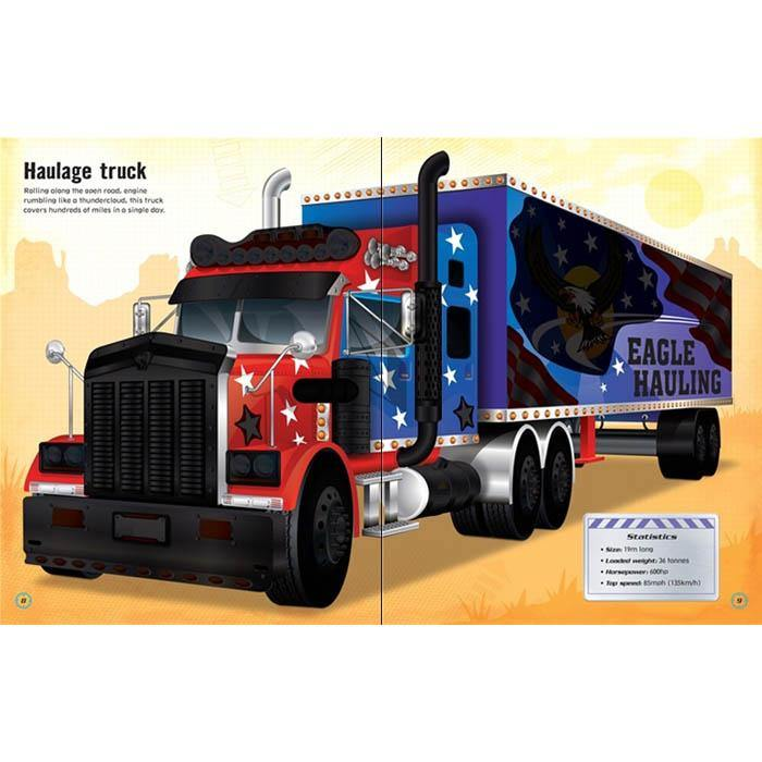 Build your own trucks sticker book-BuyBookBook