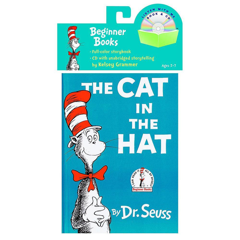 The Cat in the Hat Book (Book + CD) (Dr. Seuss)-BuyBookBook