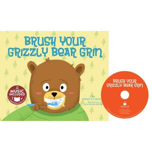 Cantata Learning Brush Your Grizzly Bear Grin (Book + CD)
