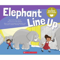Cantata Learning Elephant Line Up (Book + CD)-BuyBookBook