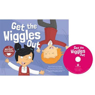 Cantata Learning Get the Wiggles Out (Book + CD)-BuyBookBook