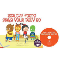 Cantata Learning Healthy Foods Make Your Body Go (Book + CD)-BuyBookBook