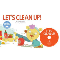 Cantata Learning Lets Clean Up! (Book + CD)-BuyBookBook