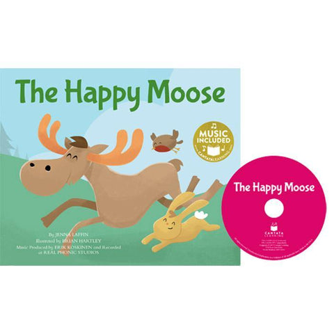 Cantata Learning The Happy Moose (Book + CD)-BuyBookBook