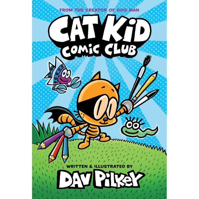 Cat Kid Comic Club (Dav Pilkey) (Hardback)-BuyBookBook